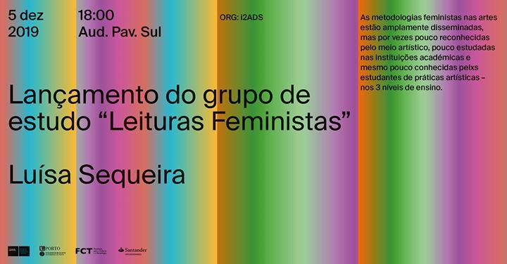 Lançamento do grupo de estudo Leituras Feministas