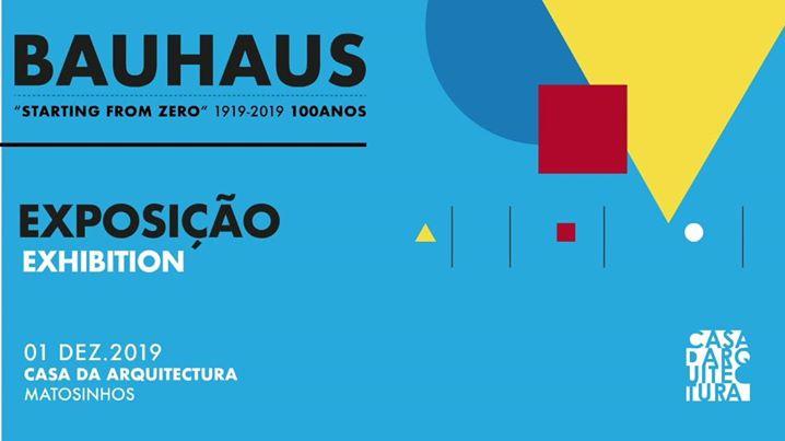 100 anos Bauhaus \\ Inauguração da Exposição Coletiva