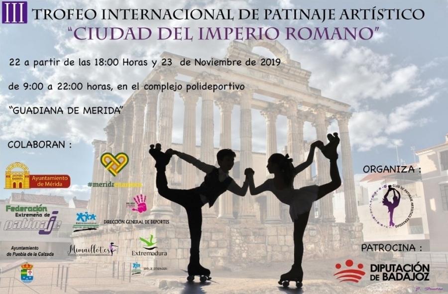 III Trofeo Internacional de Patinaje Artístico Ciudad del Imperio Romano