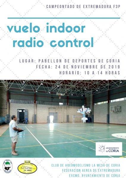 Campeonato de Extremadura de Vuelo Indoor F3P