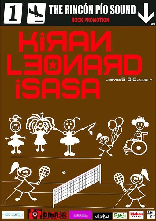 Kiran Leonard e Isasa