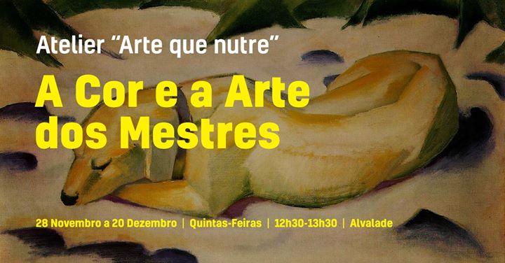 A Cor e a Arte dos Mestres -Atelier de Pintura 'Arte que Nutre'