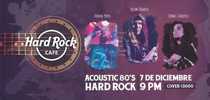 Acoustic 80's Hard Rock