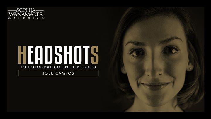 Headshots. José Campos. Fotografía