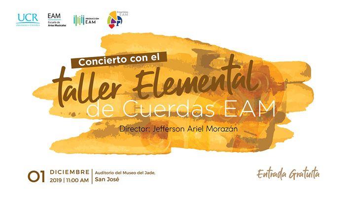 Concierto del Taller Elemental de Cuerdas EAM