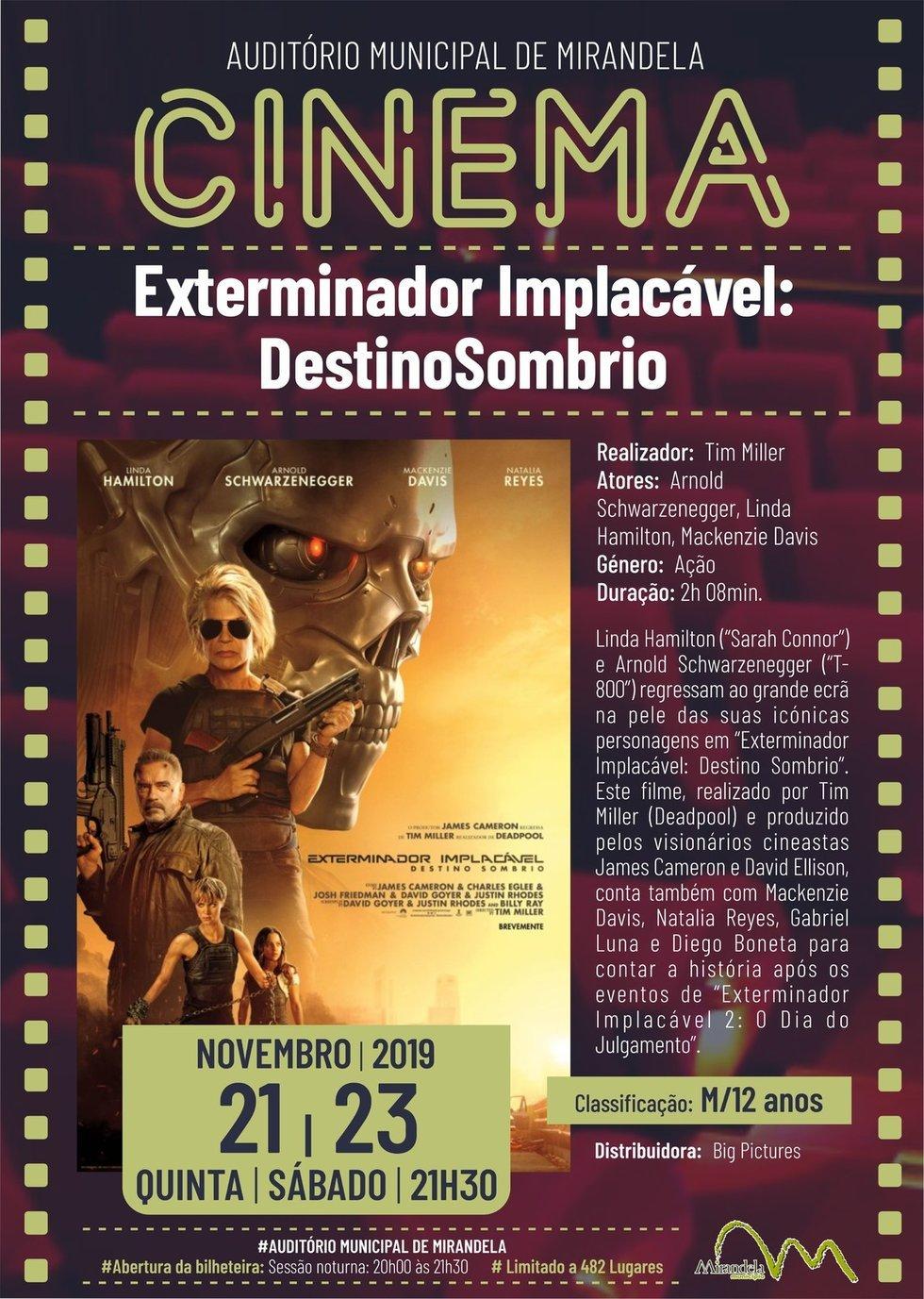 Cinema: Exterminador Implacável - Destino Sombrio