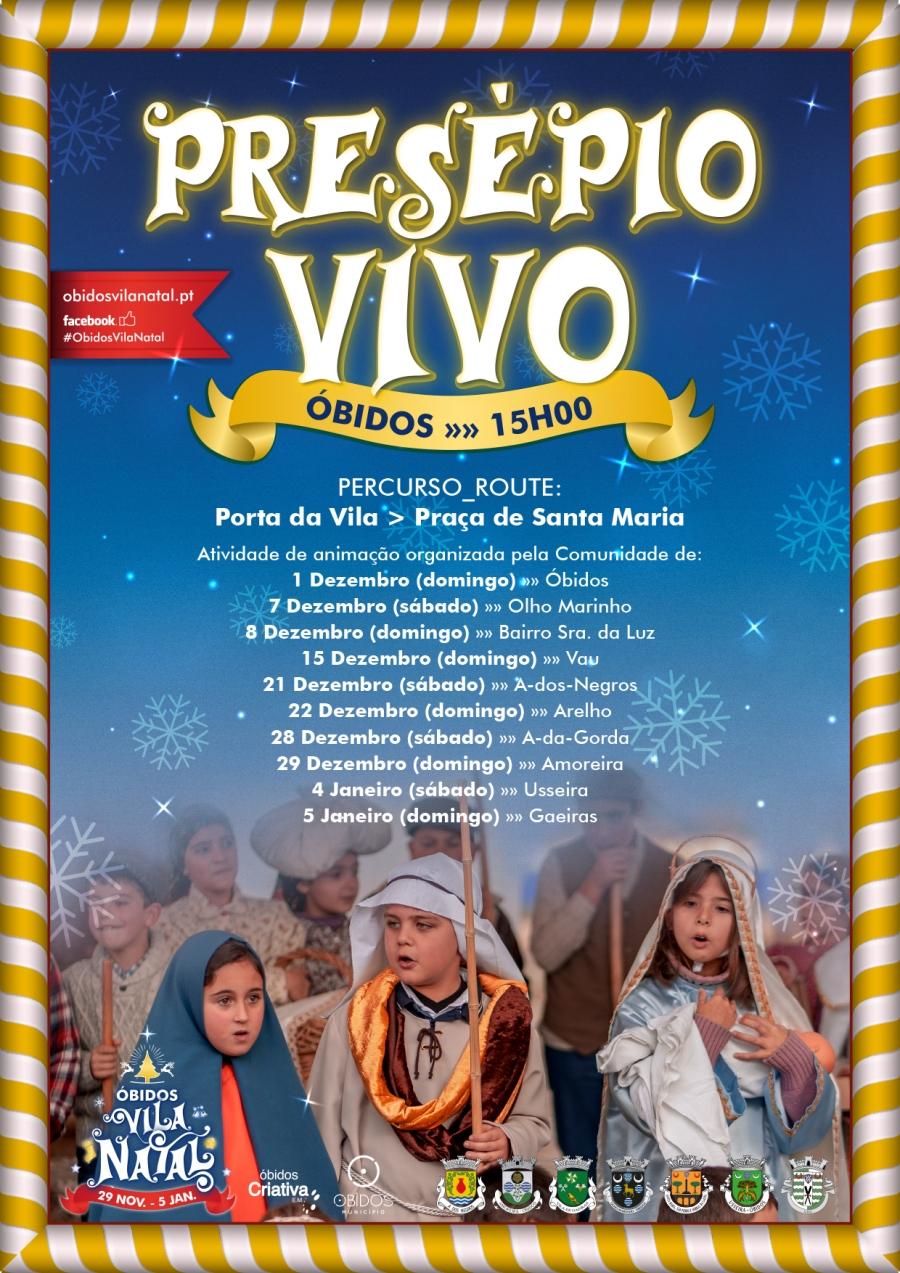 Presépio Vivo | Óbidos Vila Natal