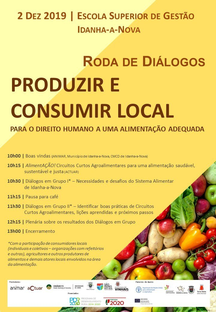 Roda de Diálogos: Produzir e Consumir Local