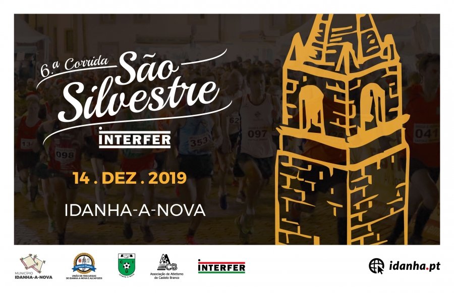 6.ª Corrida S. Silvestre INTERFER Idanha-a-Nova
