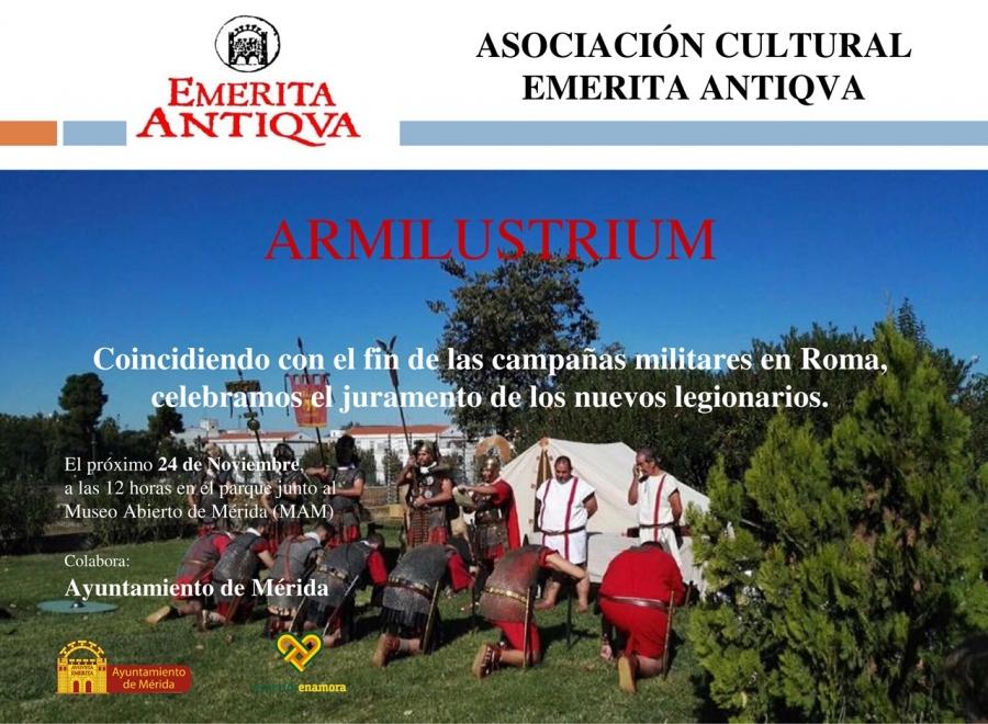 Recreación romana 'Armilustrium' de Emerita Antiqua