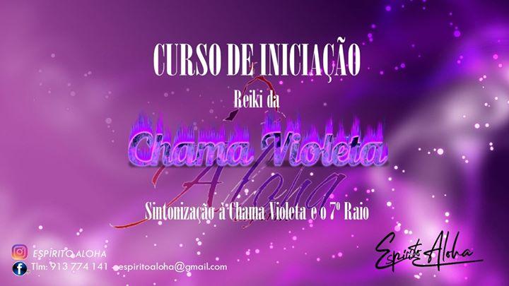 Curso de Reiki Sagrado da Chama Violeta - Entroncamento