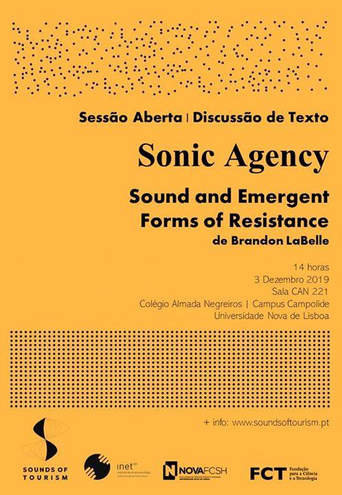 Sessão aberta (Discussão de texto) Sounds of Tourism