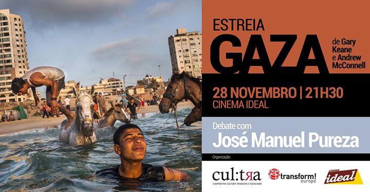 Exibição do documentário 'Gaza' (Andrew McConnell, Garry Keane)