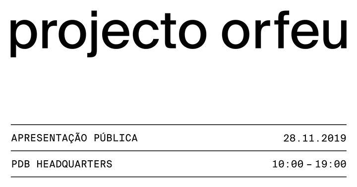 Projecto Orfeu   apresentação pública