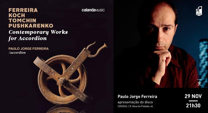 Contemporary Works for Accordion - Paulo Jorge Ferreira
