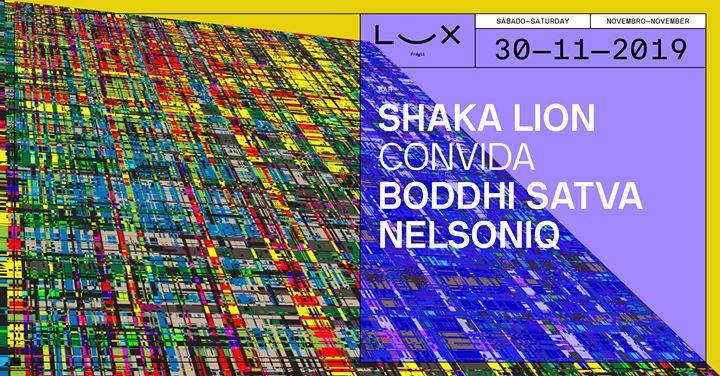 Shaka Lion convida Boddhi Satva x Nelsoniq