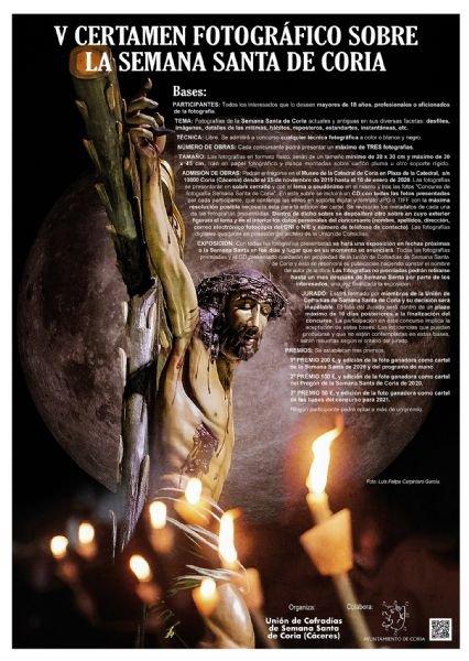 V Certamen Fotográfico sobre la Semana Santa de Coria