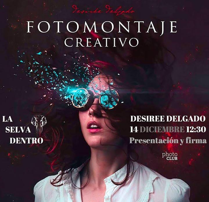 Desirée Delgado Con Fotomontaje Creativo En Mérida