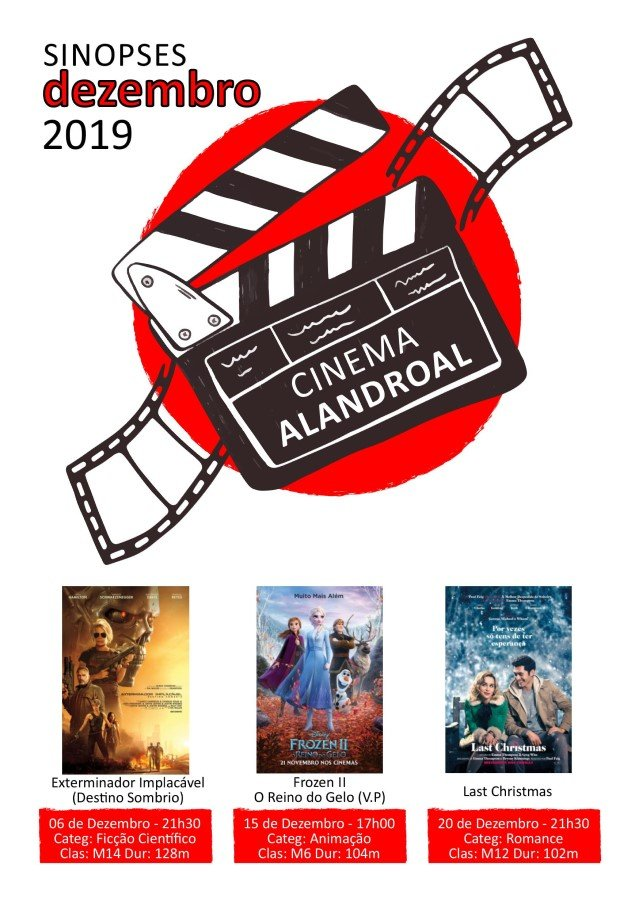 Cinema Alandroal - dezembro