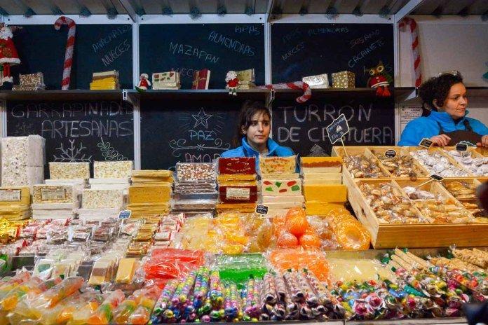 Mercado navideño de artesanía