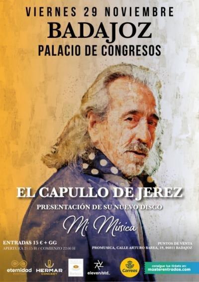 Presentación del nuevo disco de Capullo de Jerez