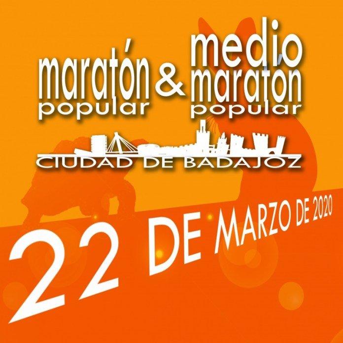 APLAZADO // 28ª Maratón y 6ª Media maratón Ciudad de Badajoz