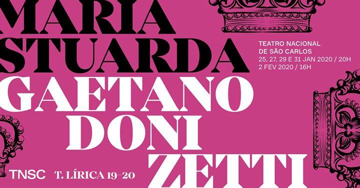 Maria Stuarda, de Gaetano Donizetti