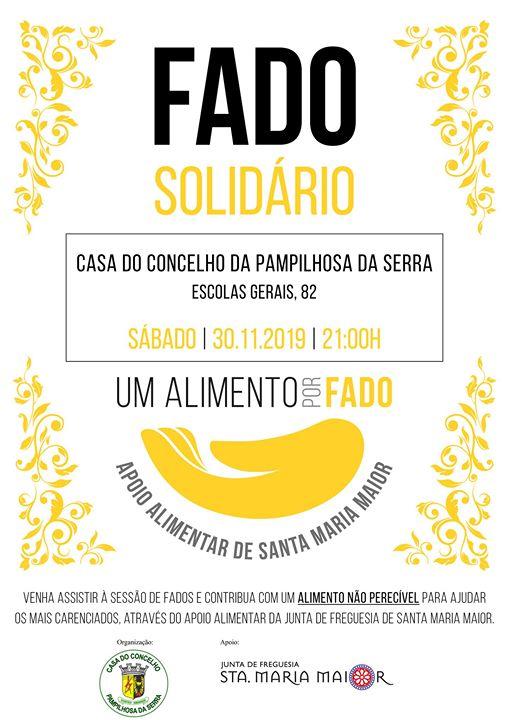 Fado Solidário | Casa do Concelho da Pampilhosa da Serra