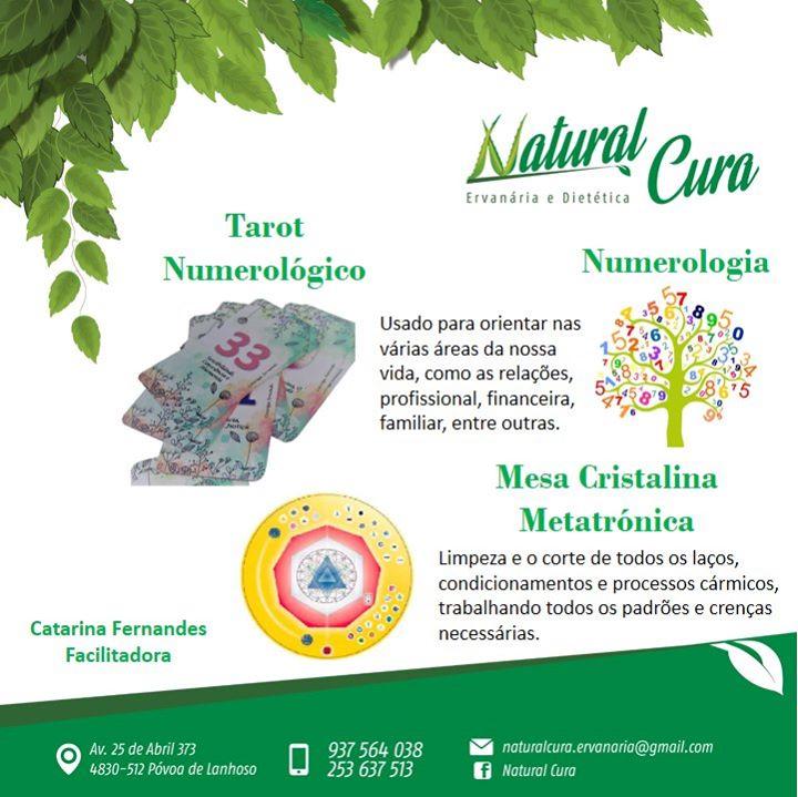 Numerologia/Tarot/Mesa Metatrónica com Catarina Fernandes