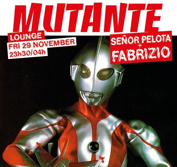 Mutante #97 Señor Pelota + Fabrizio