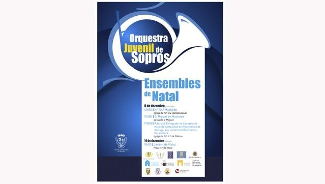 Ensembles de Natal da Orquestra Juvenil de Sopros de Évora