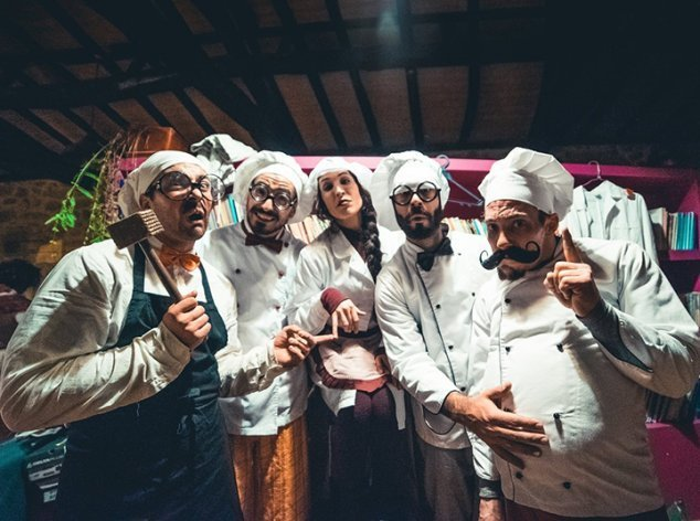 Sons da Suévia & Anymamundy 'Algazarra na Cozinha'