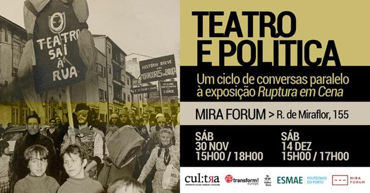 Teatro e Política - Ciclo de conversas