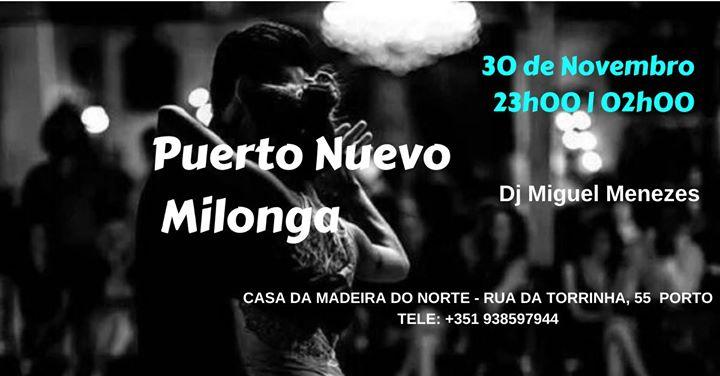 Puerto Nuevo Milonga, un abrazo a bailar
