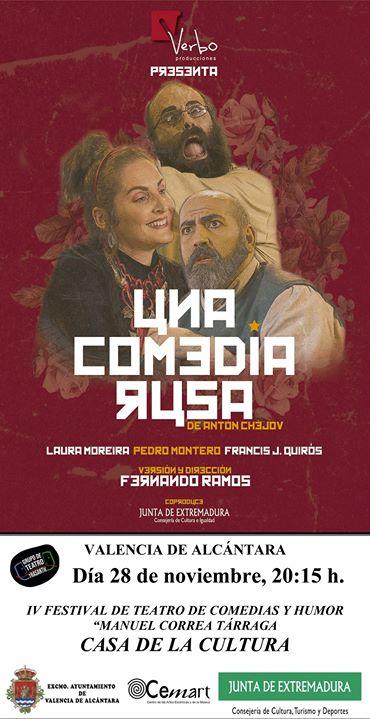 Teatro: Una Comedia Rusa