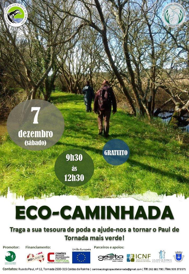 Eco-caminhada - Ação de voluntariado ambiental Paul de Tornada
