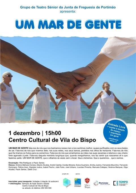 'UM MAR DE GENTE' no Centro Cultural de Vila do Bispo