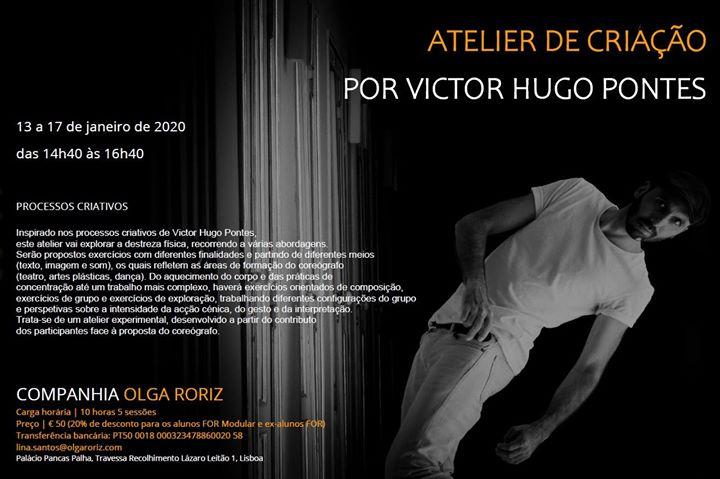 Atelier de criação por Victor Hugo Pontes