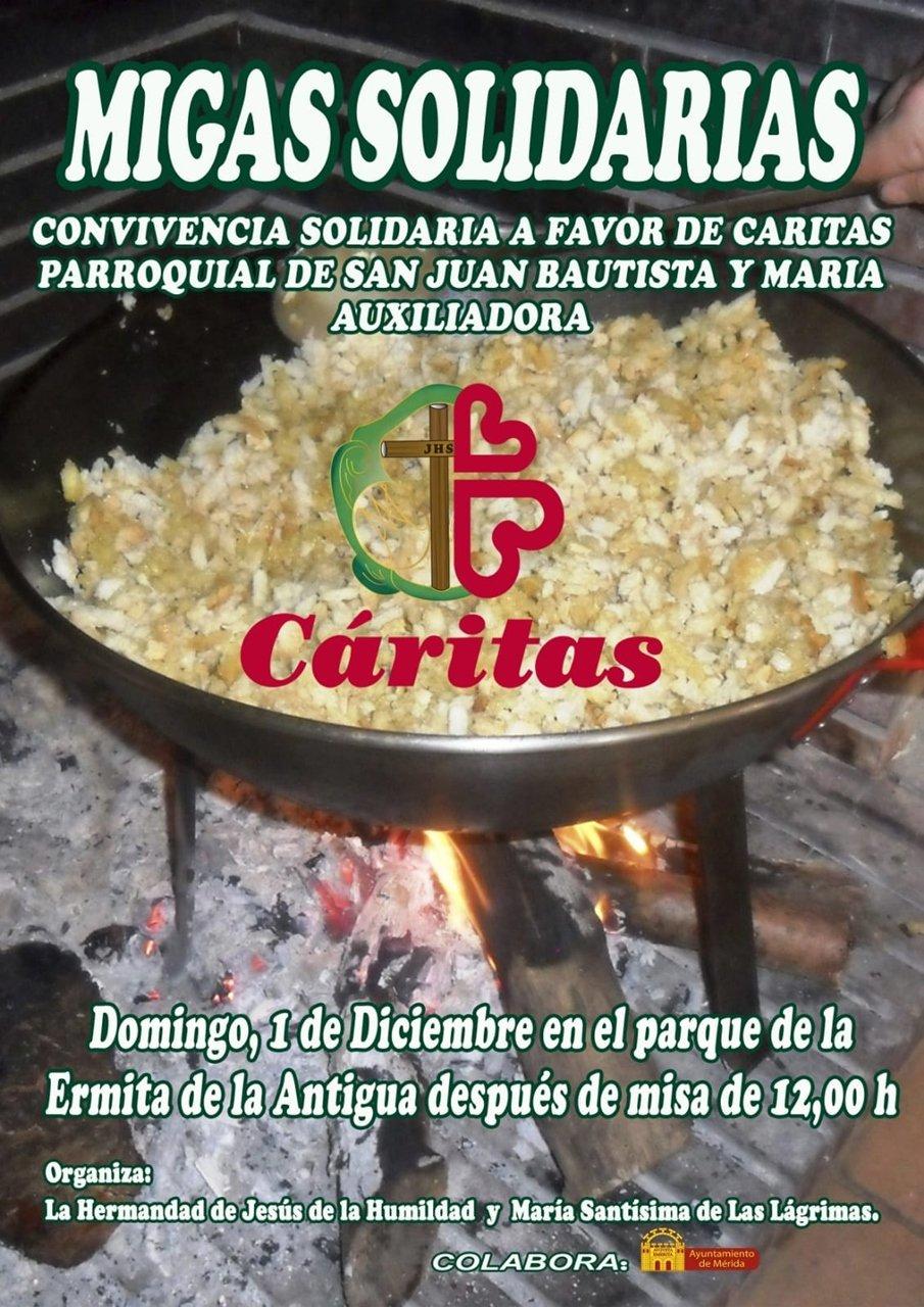 Migas Solidarias (Convivencia parroquia San Juan Bautista y María Auxiliadora)