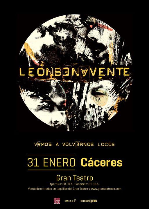 León Benavente en Cáceres