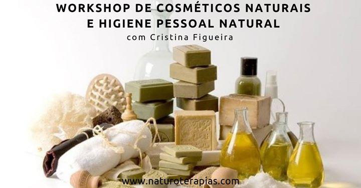 Workshop de Cosméticos Naturais e Higiene Pessoal Natural