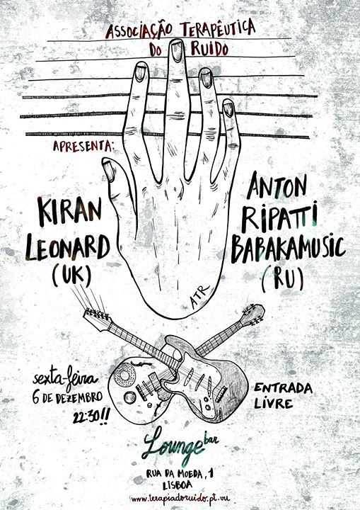 ATR apresenta: Kiran Leonard + Anton Ripatti Babakamusic