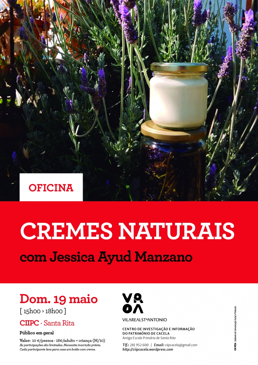 Oficina «Cremes Naturais»
