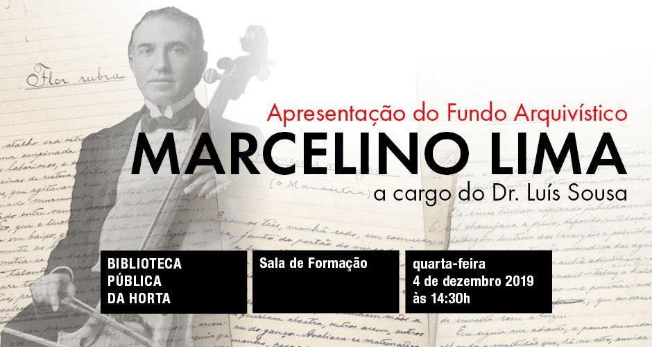 Fundo Arquivístico Marcelino Lima