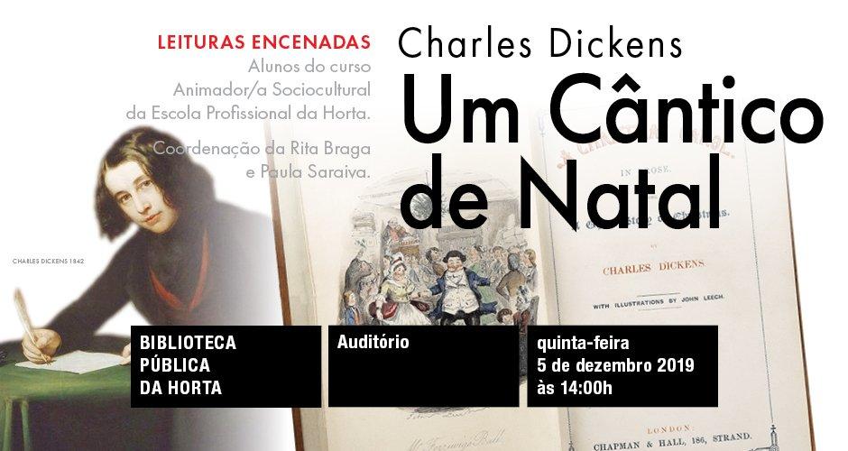 """Leituras encenadas de """"Um Cântico de Natal"""""""