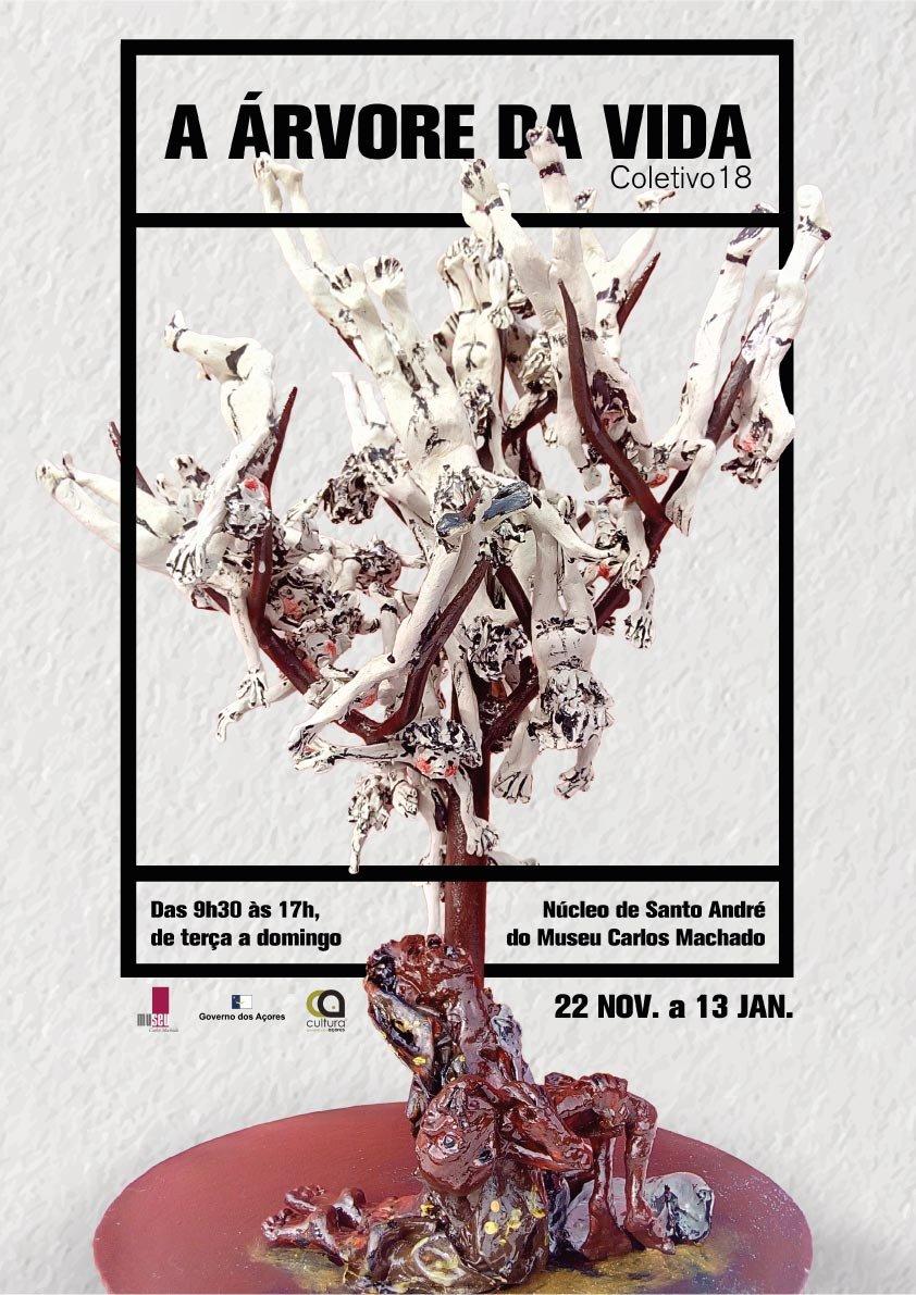 A Árvore da Vida - Exposição Coletivo 18