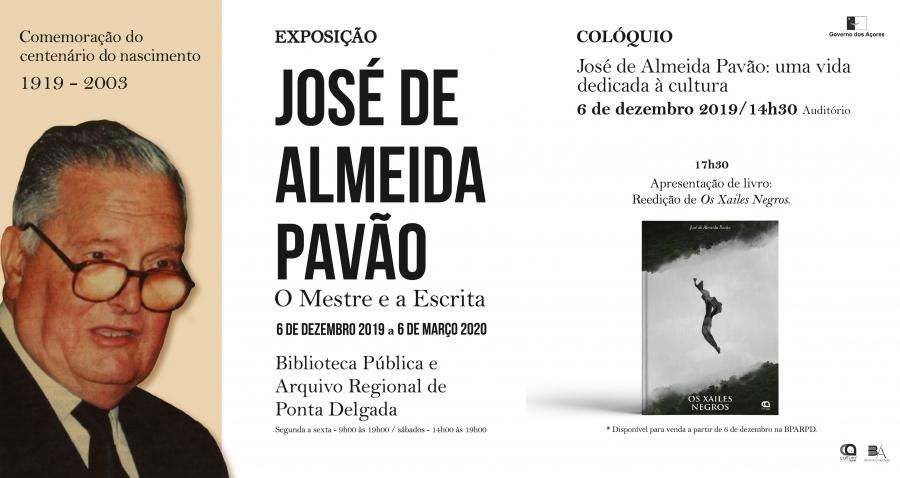 Centenário do nascimento Professor Doutor José de Almeida Pavão Júnior