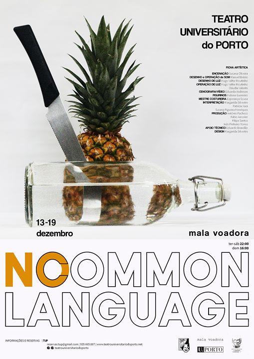 No Common Language
