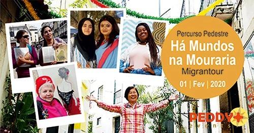 Percurso Pedestre Migrantour 'Há Mundos Na Mouraria'