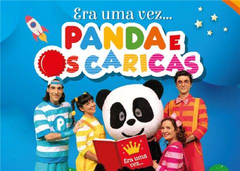 """""""Era uma vez…"""" Panda e os Caricas"""